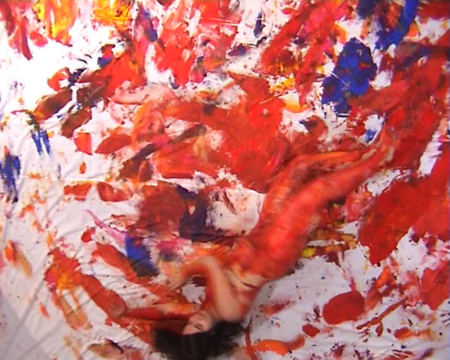 Action Painting - video-performance